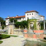 Villa of Vizcaya and Garden, Miami, Florida, USA poster