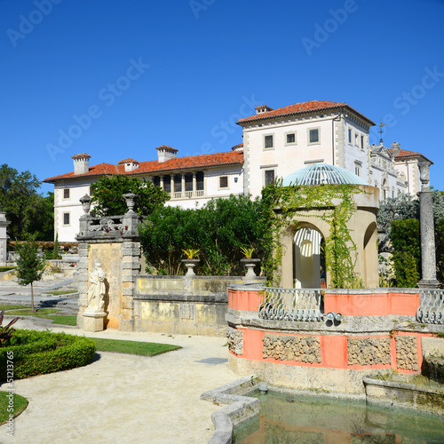 Villa of Vizcaya and Garden, Miami, Florida, USA
