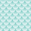Fish scales pattern - abstract seamless vector texture