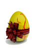 Egg decorated to the holiday of Easter