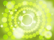 Abstract green soft focus background