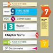 Modern infographics options banner. Vector illustration. can be