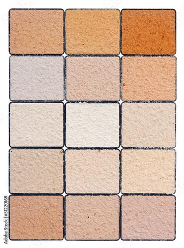nuancier coloris cr pi fa ade maison photo libre de droits sur la banque d 39 images. Black Bedroom Furniture Sets. Home Design Ideas