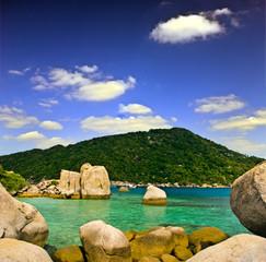 Traumbucht auf Thailändischer Insel