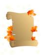 Autumn parchment