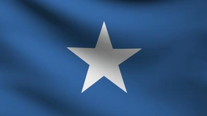 Somalia flag.