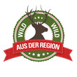 Button: Wild aus der Region