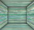 3d timber wood blue green plank square empty space