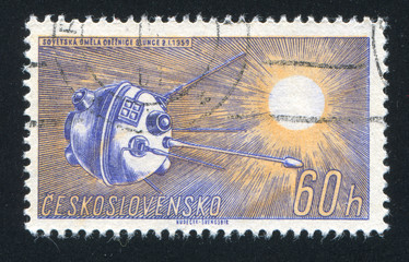 Soviet Sun Satellite