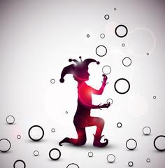 Jester juggling rings