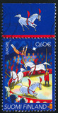 horses in circus poster