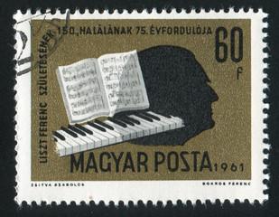Liszt silhouette