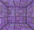 purple striped square tiled empty space