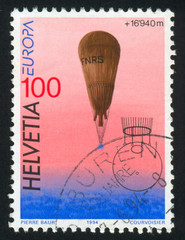 Stratospheric balloon of August and Jacques Piccard