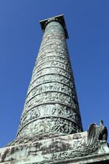 Column of Napoleon at the Place Vendome in Paris