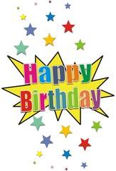 bouton happy birthday