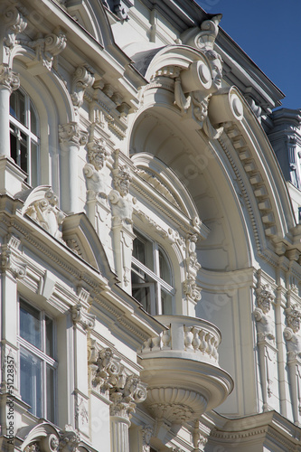 Altbau mit Balkon