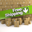 Free shipping, box wall