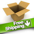 Free shipping, open box