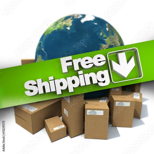 International free shipping
