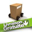 Livraison gratuite, box on wheels