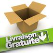 Livraison gratuite, open box