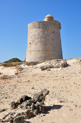 Tower of Ses Portes, Ibiza (spain)