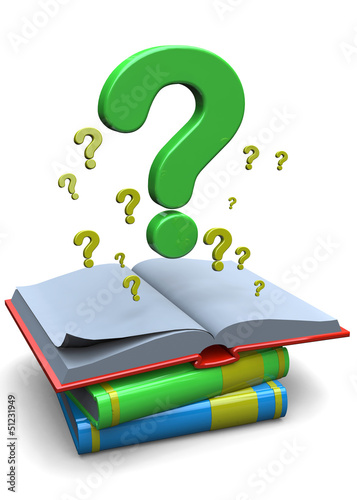 QUESTION'S BOOK - 3D
