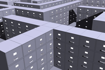 Filing cabinets ( 3D)