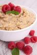 oatmeal and raspberry