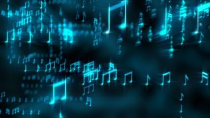 Musical Loop Background