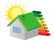 Casa ecologica a risparmio energetico