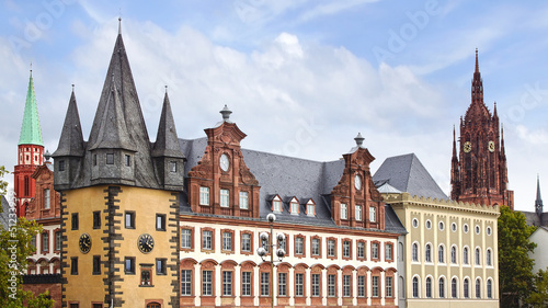 Rententurm. Frankfurt am Main, Germany