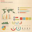 Infographic Travel Elements. Vector