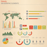 Infographic Travel Elements. Vector