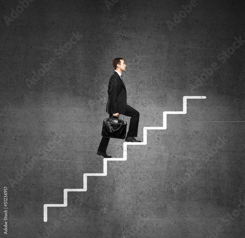 man and ladder