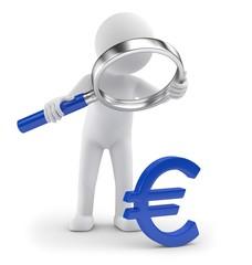 Lupe Eurosymbol