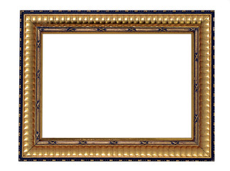 Gold and Black Frame