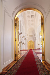 Great Kremlin Palace, Entrance doors in Georgievsky hall