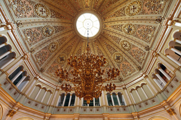Great Kremlin Palace. Small Georgievsky hall ceiling
