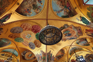Painted ceiling, Great Kremlin Palace, Palace of the Facets