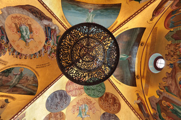 Great Kremlin Palace, painted ceiling