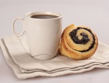 coffee and sweet rolls