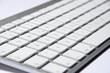 externe Tastatur mit hoher Tiefenunschärfe