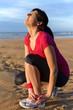 Female athlete ankle sprain