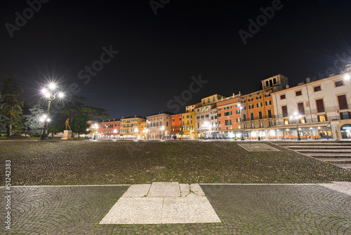 Piazza Bra by Night - Verona Italy