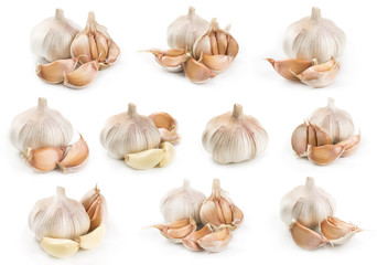 Set of garlic