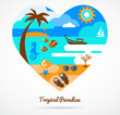 I love tropical paradise