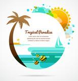 Fototapety tropical paradise