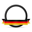 button mit banner deutschland I
